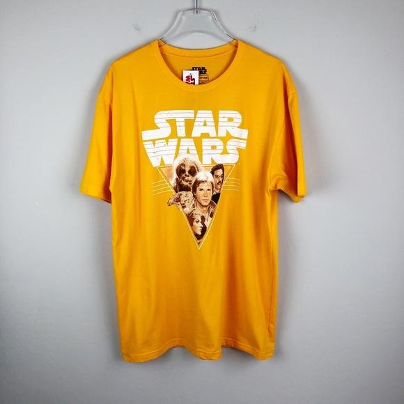 Star Wars Shirts Nwt Han Chewie Lando Leia Tee Xl Poshmark